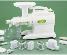 Preparing the highest quality juice with our top rated twin gear juicers