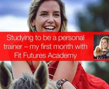 STUDYING TO BE A PERSONAL TRAINER – MY FIRST MONTH WITH FIT FUTURES ACADEMY